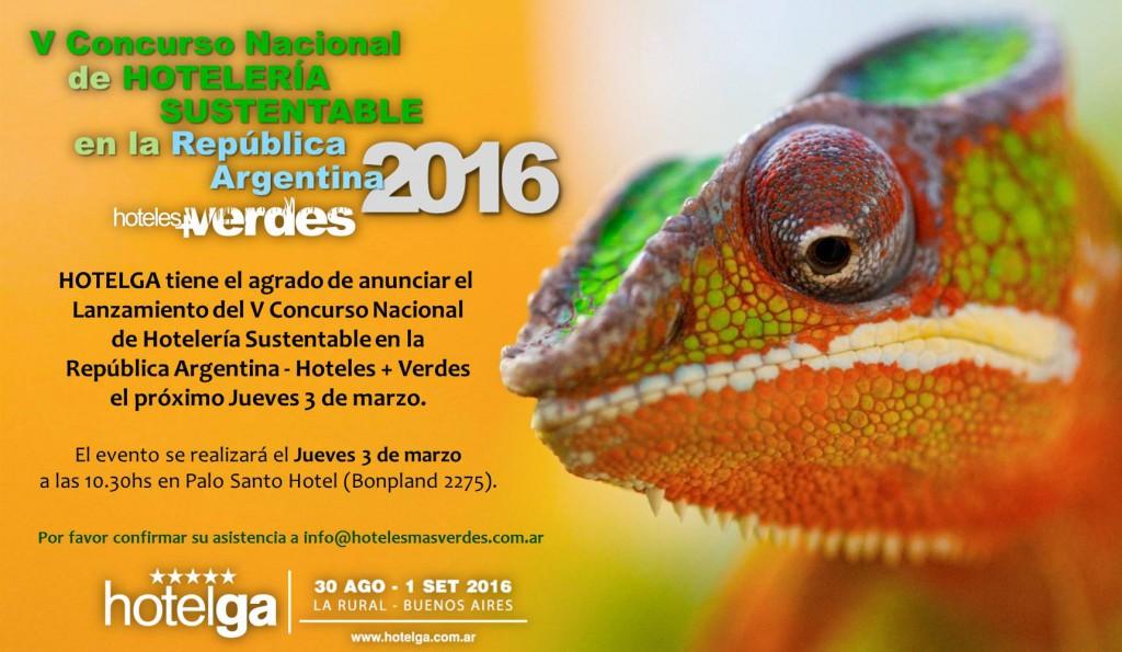 HOTELES MAS VERDES 2016
